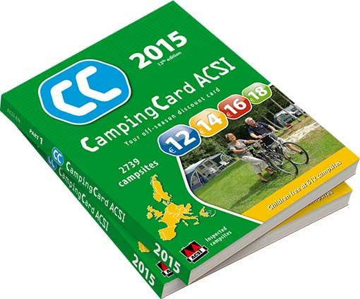 acsi campingcard uk guide book