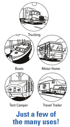 Endless Breeze Fan system for motorhomes and caravans