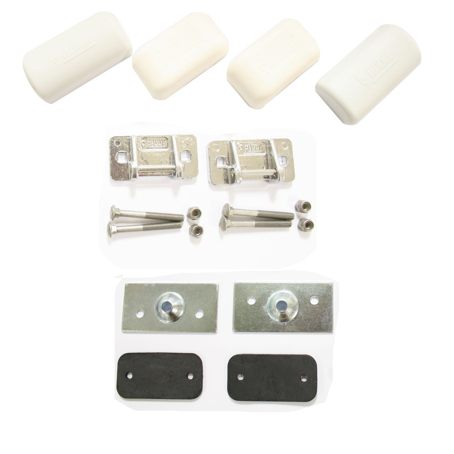 Fiamma Cycle Rack Fixing Kit Top Brackets 98656 409