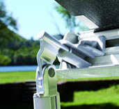 Fiamma F45S Awning - new design leg knuckle