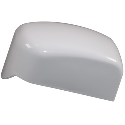 Fiamma F45i LH Awning End Cap in Polar White