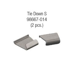 Caravanstore Tie Down S Fixing Kit Clips