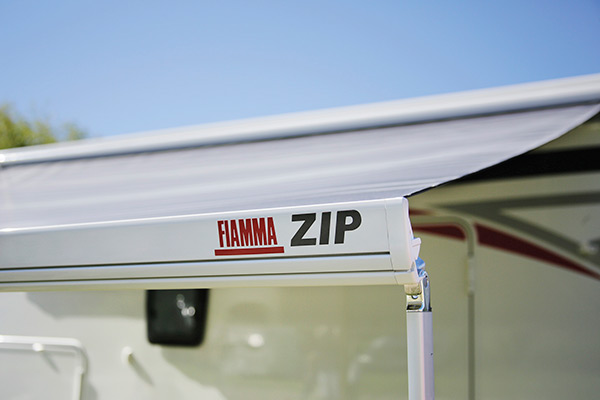 Fiamma ZIP S 350 Awning Blue Ocean - Top Only