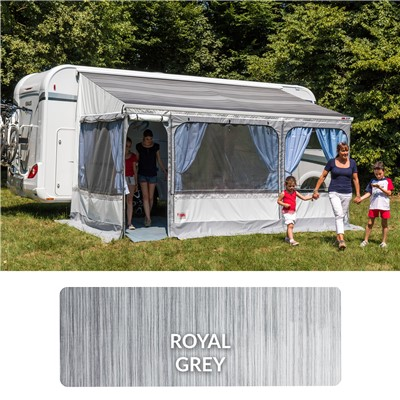 Fiamma Zip awning Top only 4.5m Royal Grey