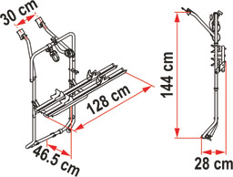 VW T5 D cycle rack schematic