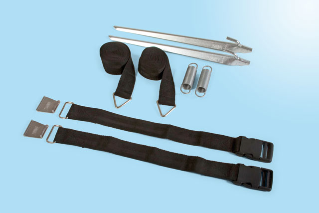 Fiamma Tie Down Kit S Black