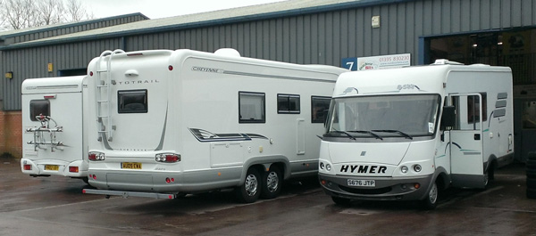 Motorhome Habitation Servicing Devon