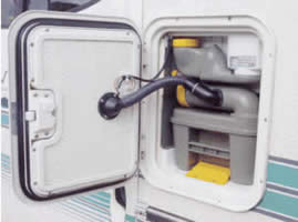 SOG Toilet kit for motorhomes fitted