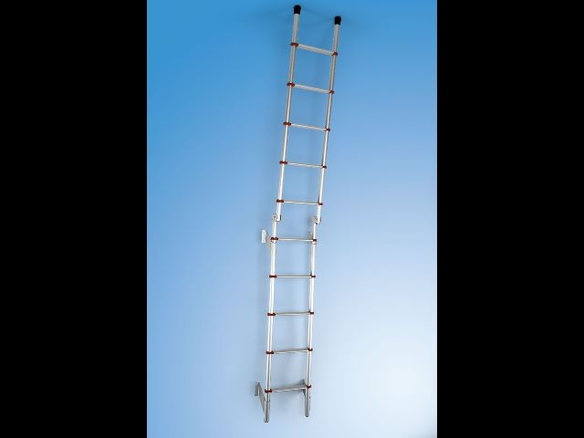 Fiamma Deluxe 5D Red Ladder