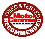 SAS Defender Wheelclamp recommended by Motor Caravan