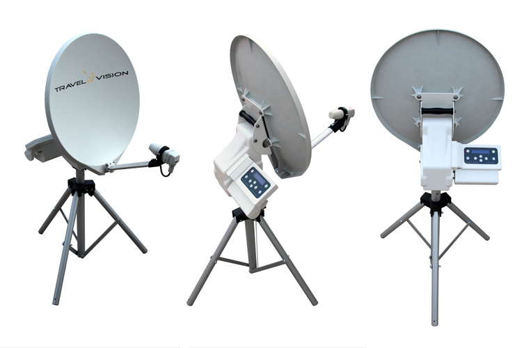 Travel Vision R6 80cm Portable Automatic Satellite System