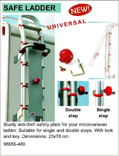 Fiamma Safe Ladder Diagram
