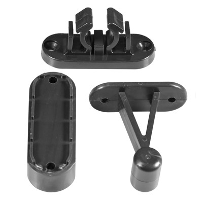Viva Door Catch Kit Black
