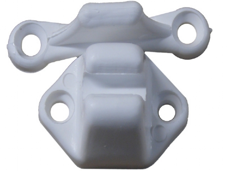 Fawo T-bar door retainer catch white