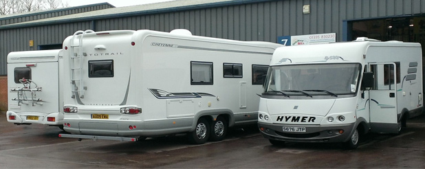 Outdoorbits Motorhome Accessories fitting workshop Devon