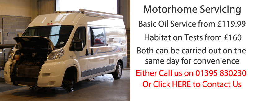 Motorhome Servicing in Devon