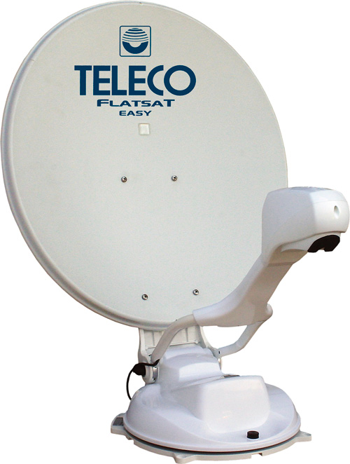 Teleco FlatSat Easy SMART 50cm Satellite System