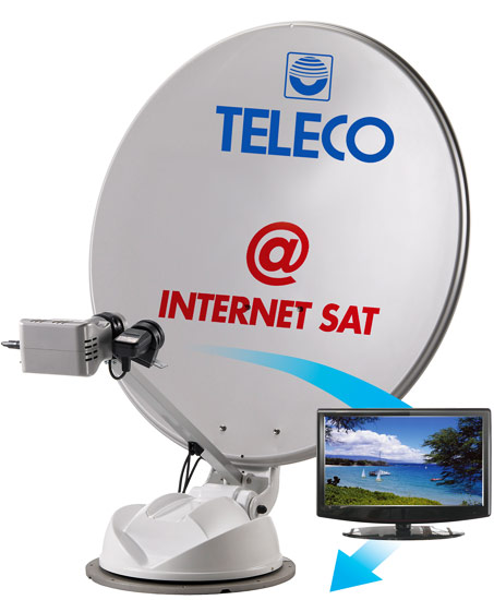 Teleco Internet Sat 85cm Twin LNB Satellite Internet System