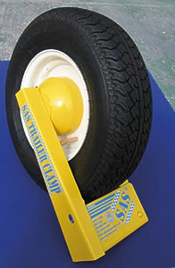 SAS Trailer Wheelclamp
