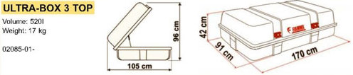 Fiamma Ultrabox 3 TOP Diagram