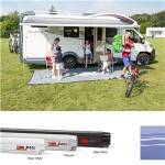Fiamma F45S 400 Awning Titanium Royal Blue