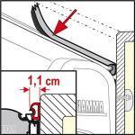 Fiamma Kit Rain Guard S - 5.5m