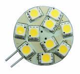 10 LED Side Pin G4