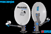 Maxview Precision Waterways Satellite System Twin LNB