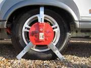 SAS New Defender Wheelclamp Large