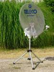 Teleco ActivSat Portable Automatic Tripod System 65cm Transparent - Single LNB