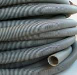 28.5mm Grey Convoluted Waste Hose