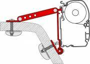 Fiamma Awning Bracket Kit Wall Adaptor