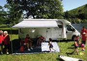 Fiamma F45S 260 Awning Titanium Deluxe Grey