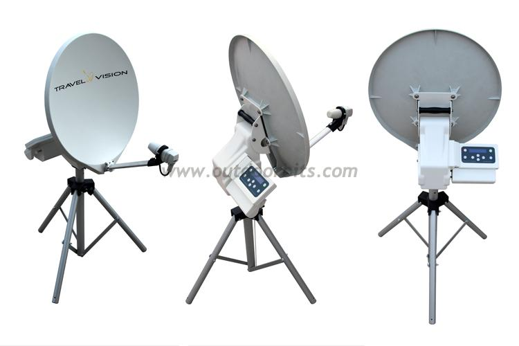 Travel Vision R6 65cm Portable Automatic Satellite System